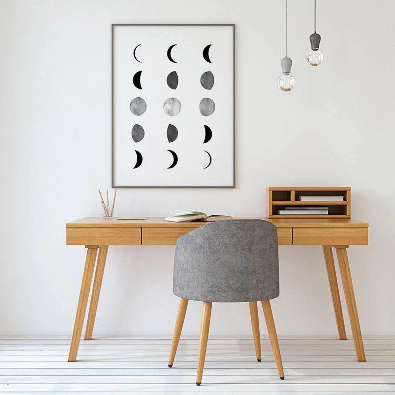 Affiche cycle de lune