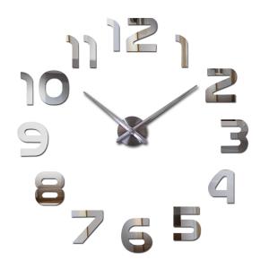 Horloge miroir murale
