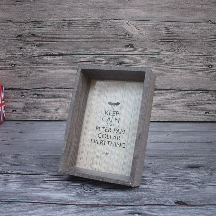 Cadre demi boite en bois 3