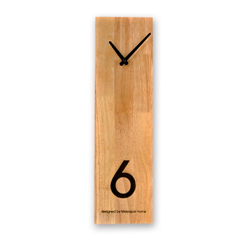 L'horloge bois design 3