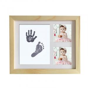 Cadre photo en bois pour bébé