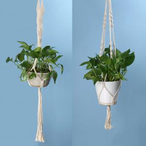 Lasseau tressé pour suspension de plante